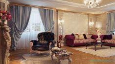 Salonlarda Klasik Stil Oturma Grupları
