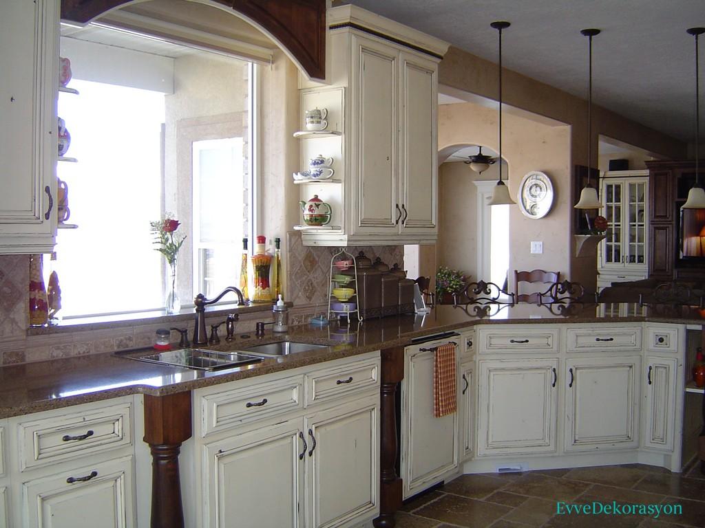 Klasik Mutfak Mobilyaları İle Vintage Tarz
