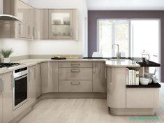 Köşeli Hazır Mutfak Tasarım Fikirleri