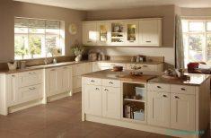 Krem Rengi Ada Mutfak Tasarımları Ve Fikirleri
