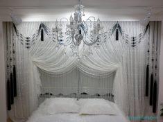 Kruvaze Perdeler İle Yatak Odanızı Süsleyin