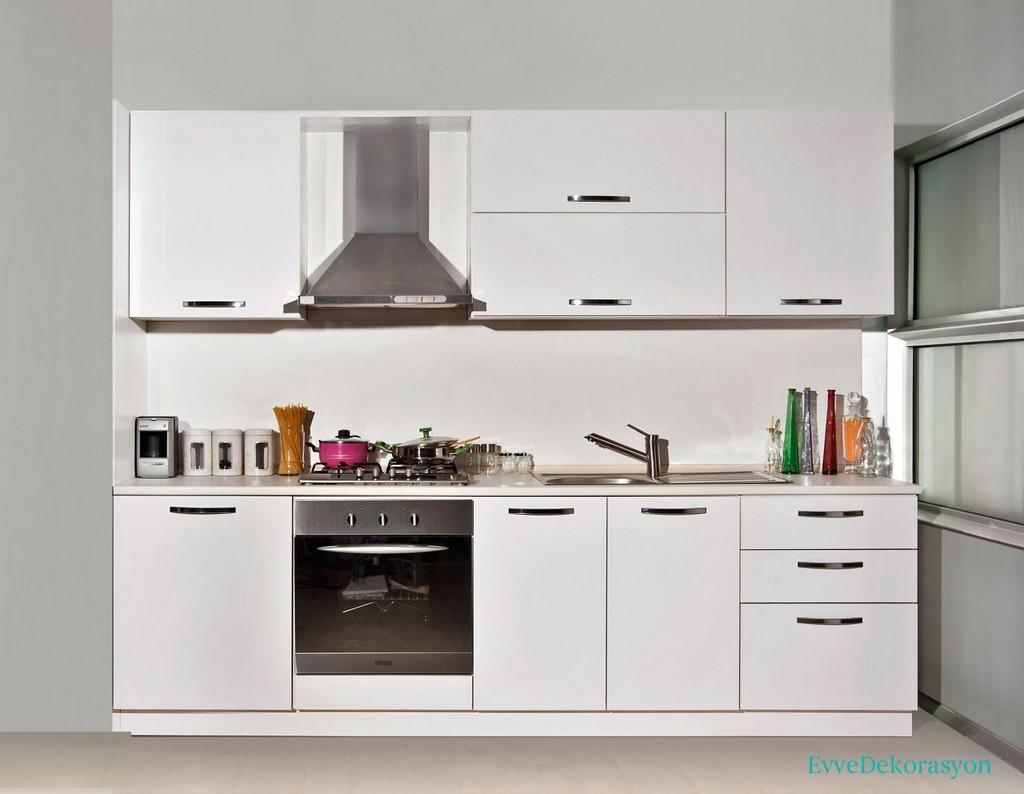Küçük Mutfak Hazır Dolap Modelleri
