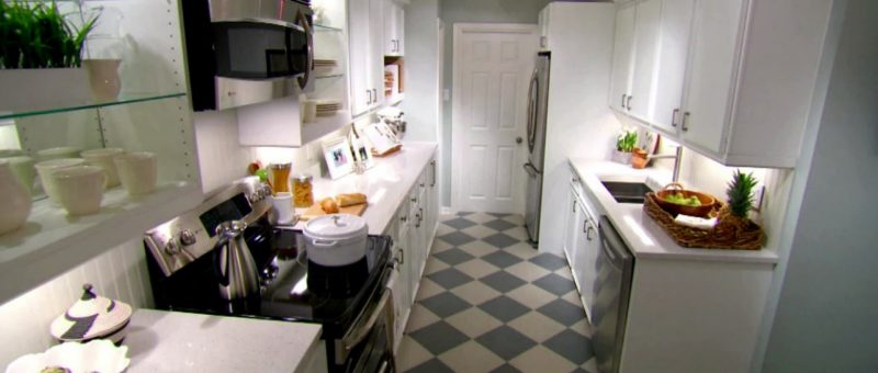 Küçük Mutfaklar Ve Tasarım Fikirleri
