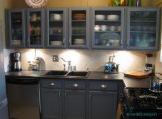 Küçük Mutfaklarda Dolap Modelleri ve Fikirleri
