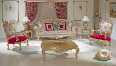 Luxury Mobilya Klasik Salon Koltuk Modelleri