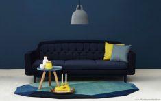 Pastel Renklerle Sade Salon Dekorasyonu