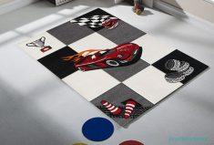 Merinos Halı Araba Desenli Çocuk Odası Halısı