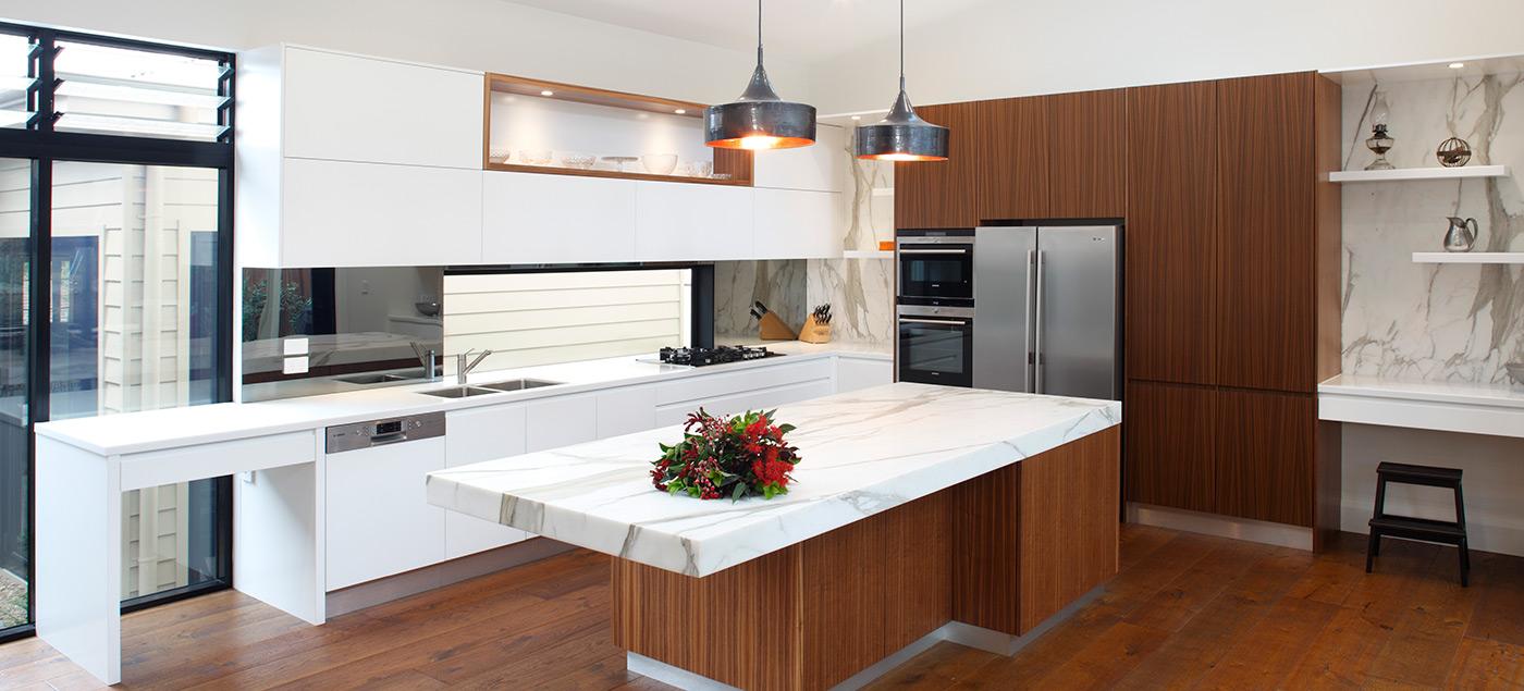 Mermer detaylar ile mutfak dizayn ev dekorasyonu for Kitchen designs big