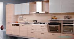 Meşe Ağacı Hazır Mutfak Modelleri