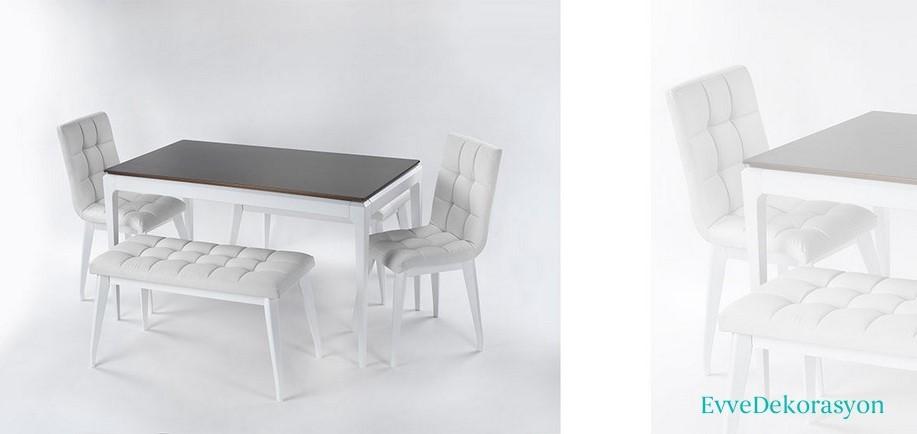 Beyaz Mutfak Masa Fikirleri