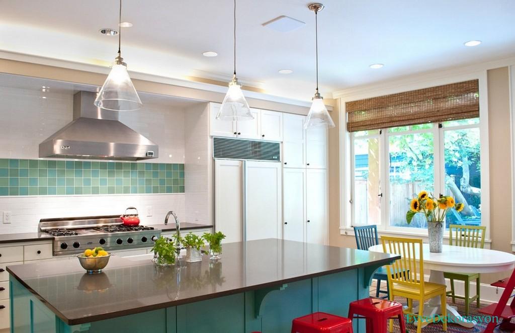 Modern Mutfaklarda Renk Seçimi Ve Örnekleri
