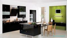 Mutfakta Farklı Renklerin Kombinasyonu