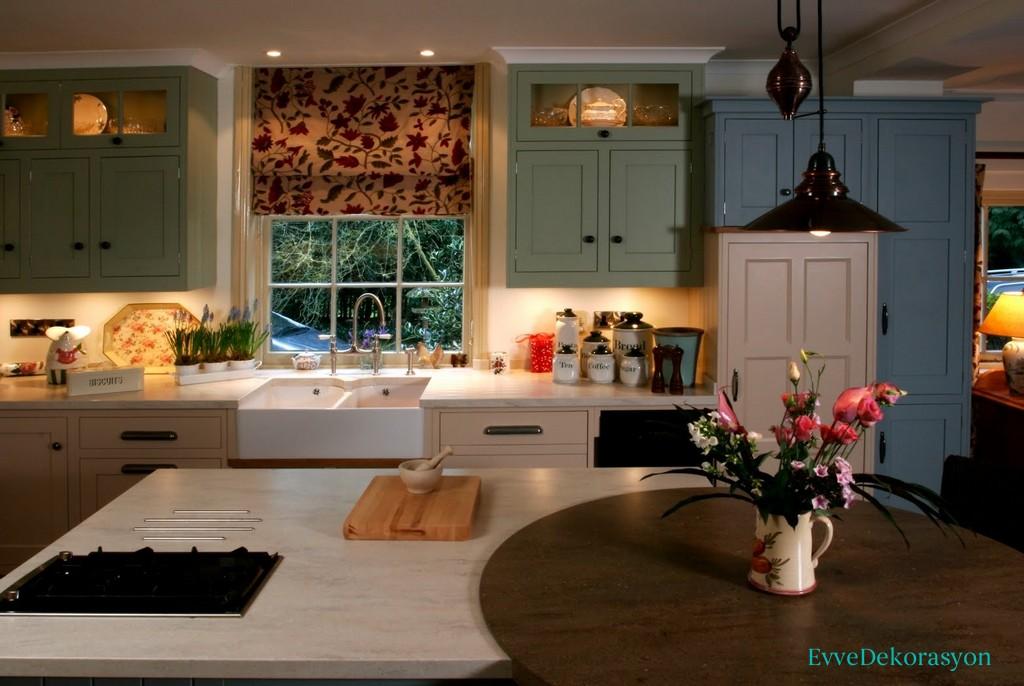 Mutfaklarda Beyaz Renk Modelleri, Örnekleri