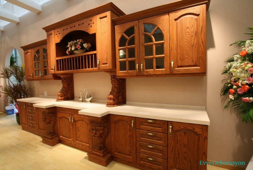 Oymalı Mutfak Mobilyası