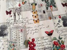 Kelebek Desenli Mutfak Halısı