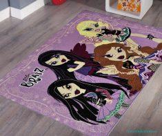 Kız Çocukları İçin Çocuk Odası Halıları