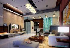 Salon Mobilya Ve Duvar Aydınlatmaları