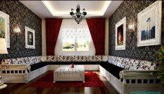 Doğu Kültürüne Uygun Salon Dekorasyonu