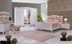 Pembe Yatak Odası Halı Modelleri