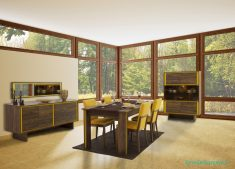 Salonlarda Sarı Renklerin Kullanımı