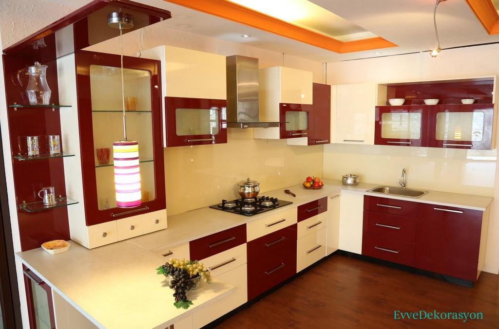 Simetrik Modüler Mutfak Dolap Fikirleri Ve Modelleri
