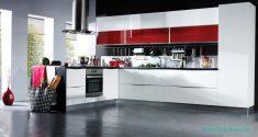 Hazır Mutfaklarda Siyah Ve Beyaz Modeller