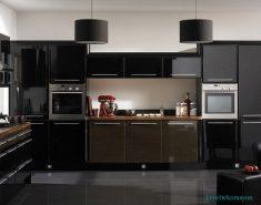 Maxwell Macbridge Siyah Mutfak Modelleri