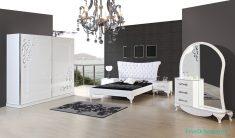 Siyah Yatak Odası Dekorasyonu Ve Halılar