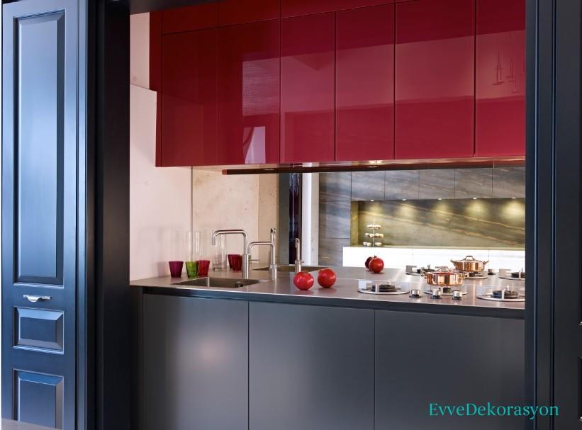 Soft Renk Mutfak Mobilyaları Ve Renk Tonları