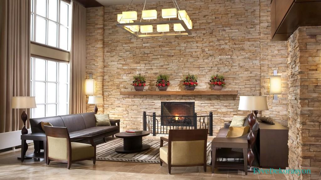 Rustik Duvarlarla Evinizde Etkileyici Tasarımlara Yer Verin