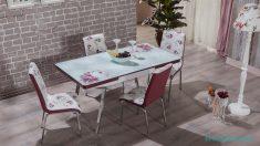İstikbal Valerya Çiçekli Mutfak Masası