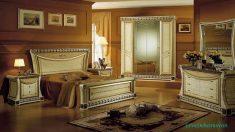 Yatak Odası Sarı Güneşlik Perde