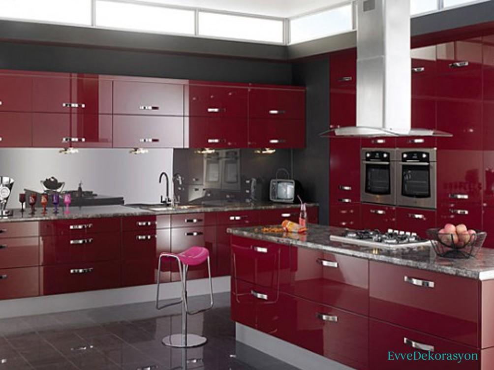 Vişne Çürüğü Modüler Mutfak Modelleri