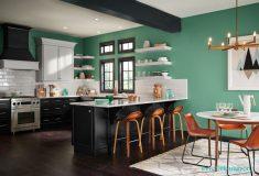 Yeşil Renk Ev Boyası Modellleri