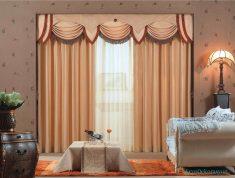 Yatak Odasında Farklı Renklerde Perde Seçimleri