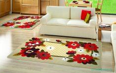 Yataş Çiçek Desenli Halı Modeli