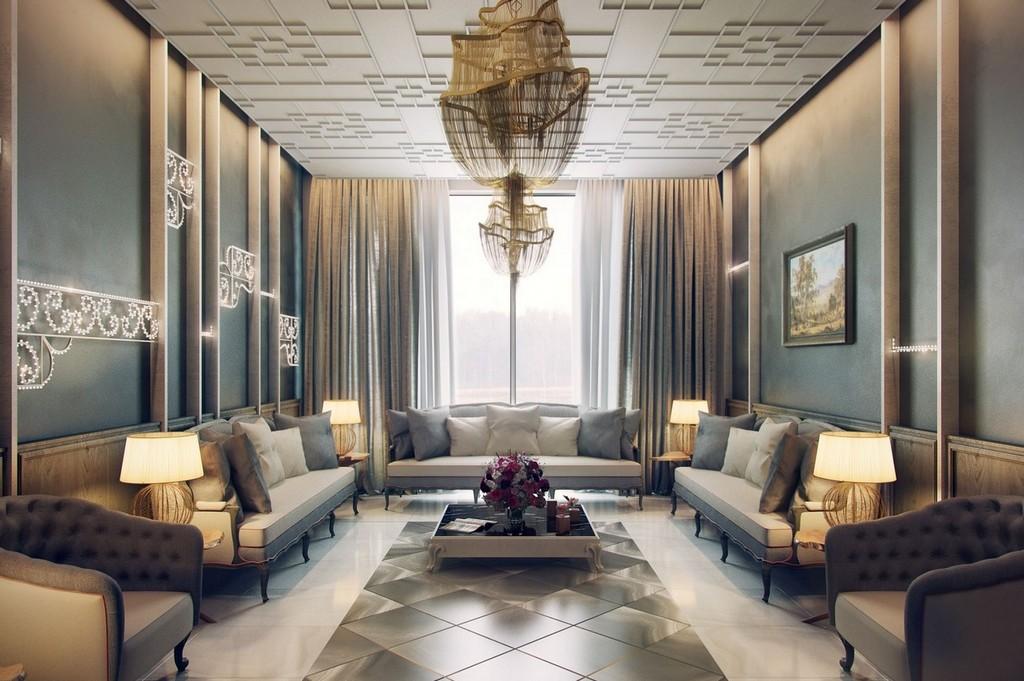 En Güzel İtalyan Salon Dekorasyonları
