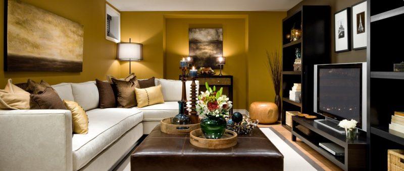 Küçük Salon Dizaynı & Dekorasyon Fikirleri