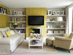 Küçük Salonlarda Minimal Ve Modern Tasarımlar