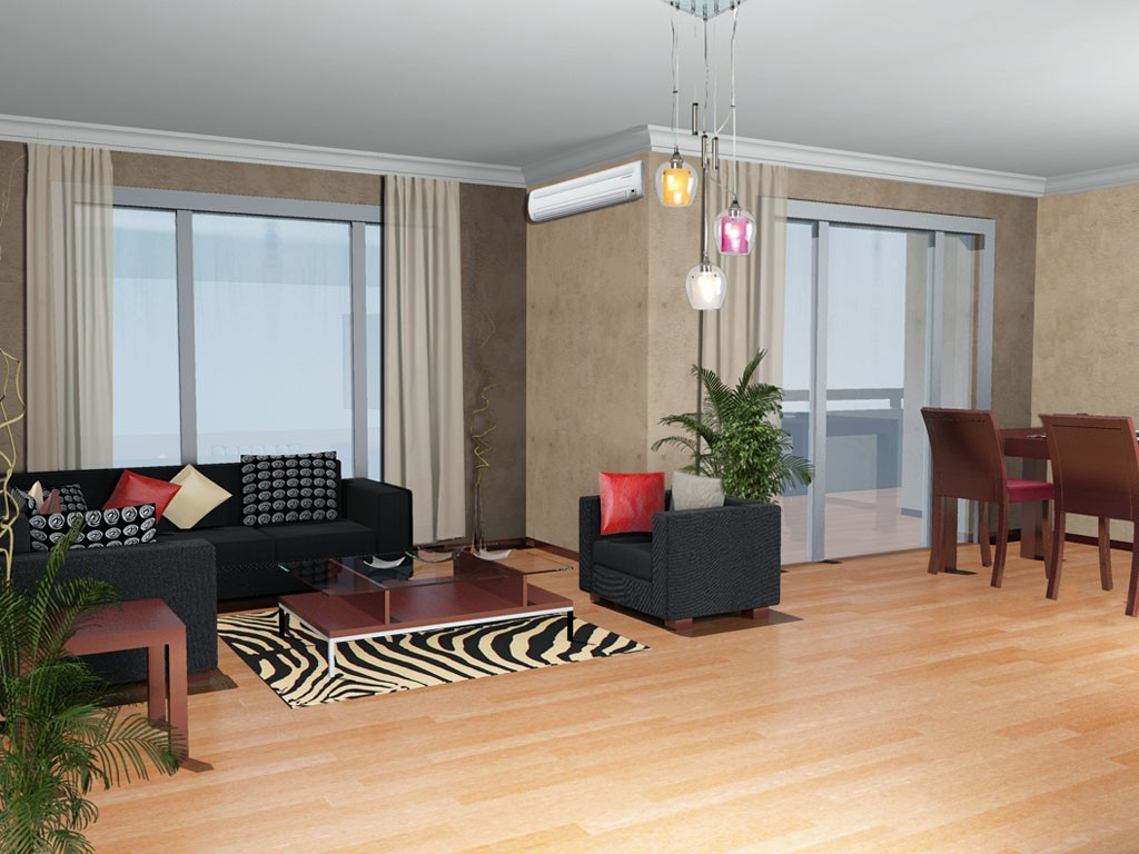 L Şeklindeki Salonlar Nasıl Dekore Edilir