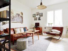 Kare Salonlarda İskandinav Stil