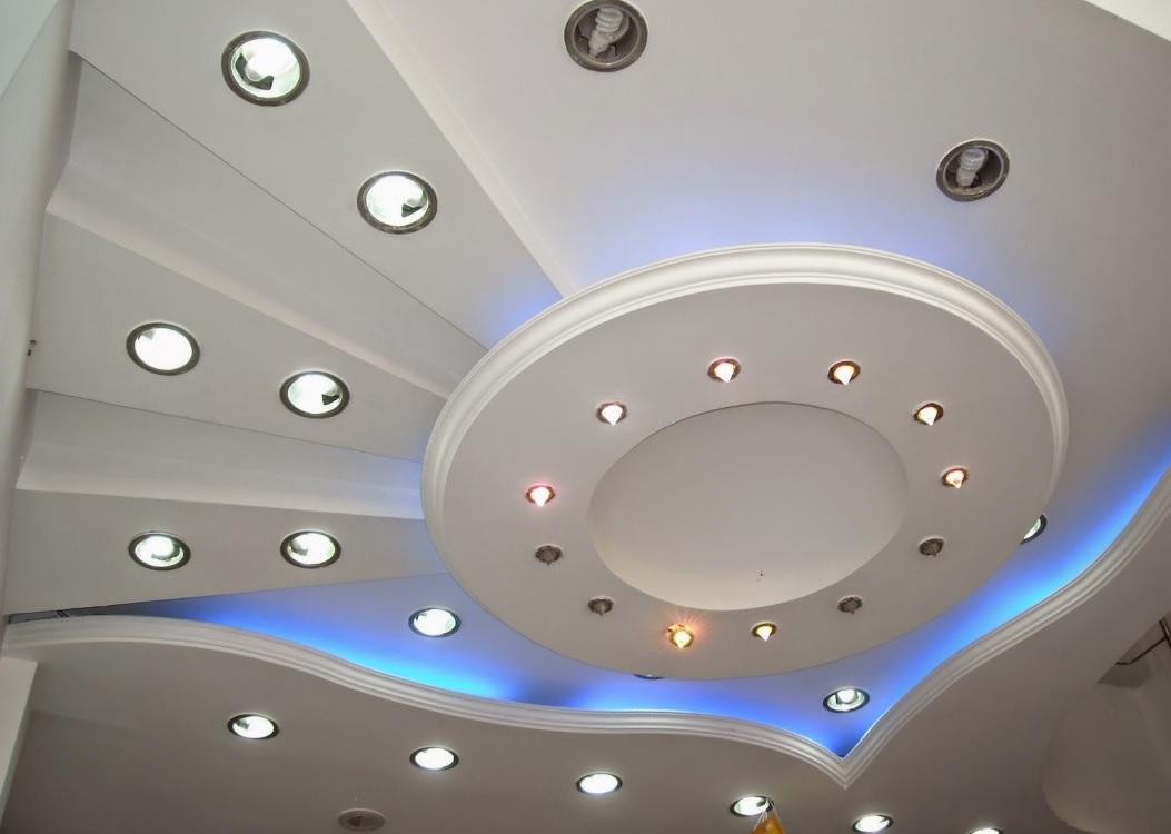 Alçı asma tavan modeli