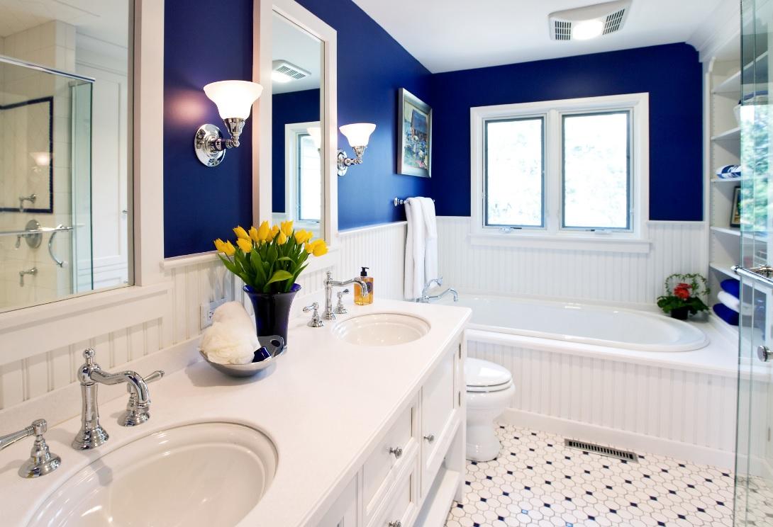 Banyolarda desenli zemin renkleri