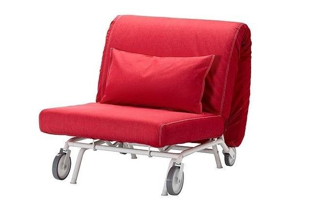 IKEA tekerlekli yatak olabilen koltuk