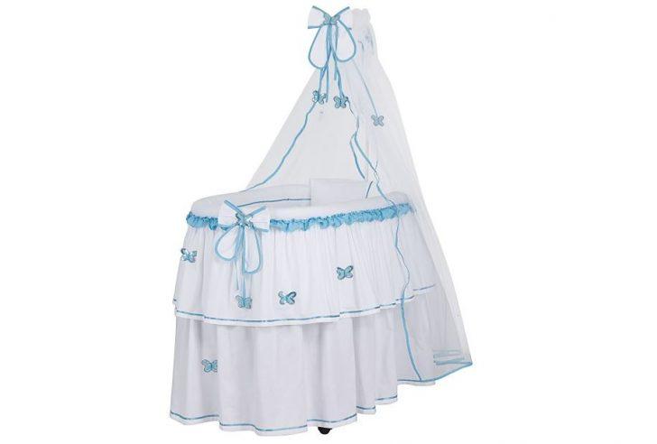Pasha Baby Kardelen Sepet Mavi Beşik Modelleri