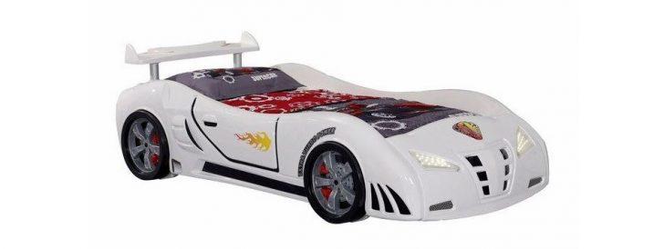Tekzen Alpino Genç Odası Araba Karyola Modeli