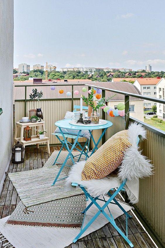Balkon Dekorasyonu Fikirleri